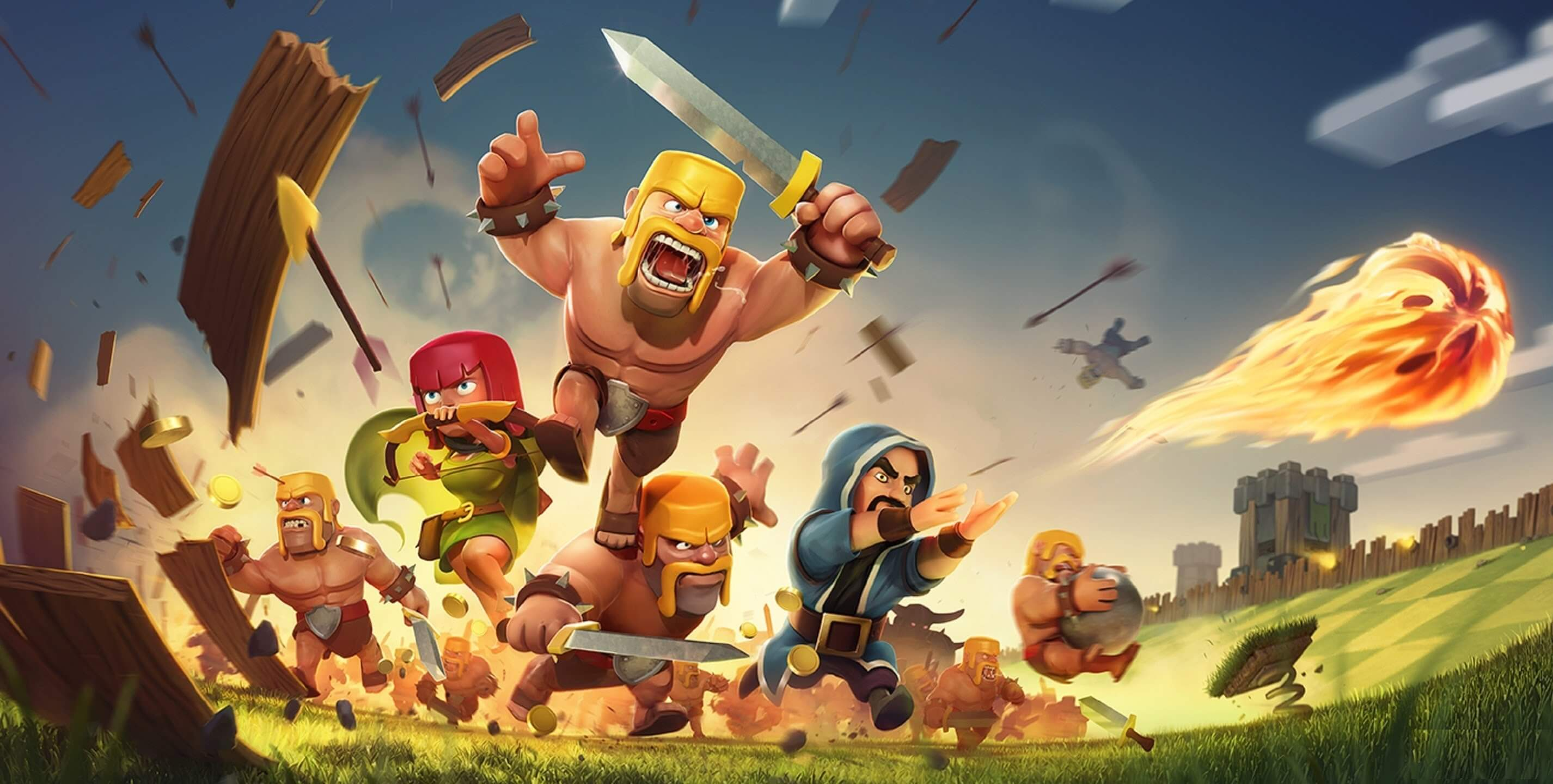 Clash of Clans Characters HD Wallpapers