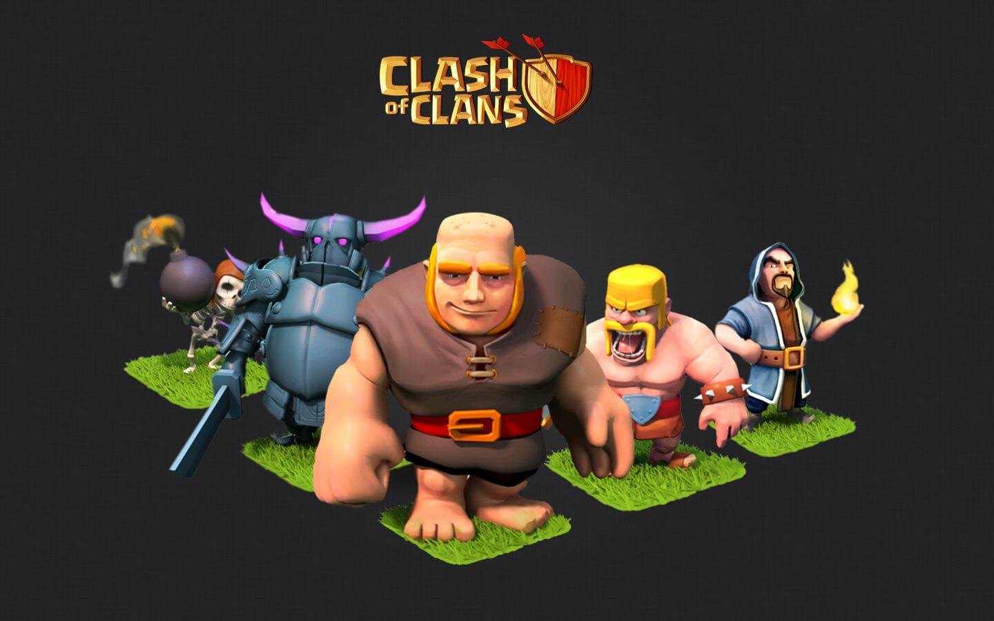 Clash of Clans Characters Wallpaper
