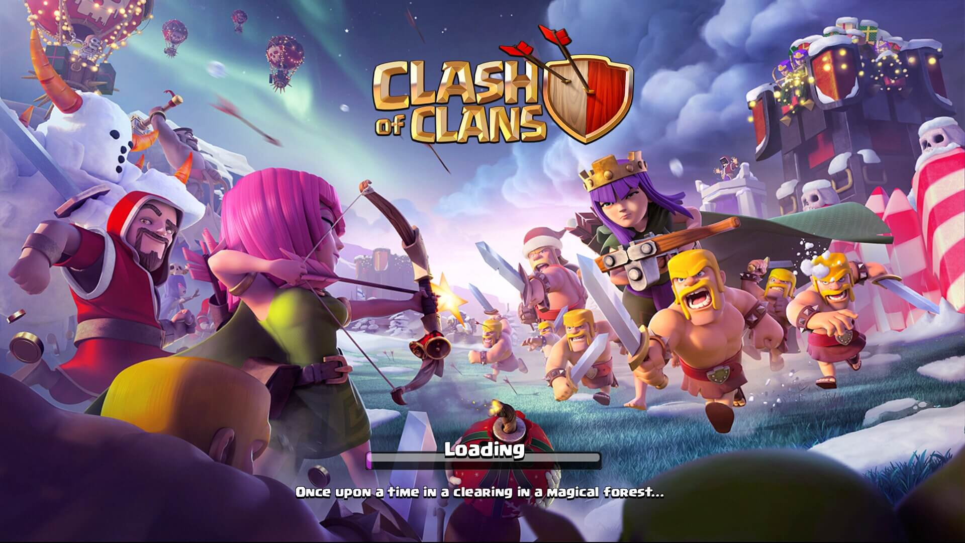 Clash of Clans Loading Screen Wallpaper