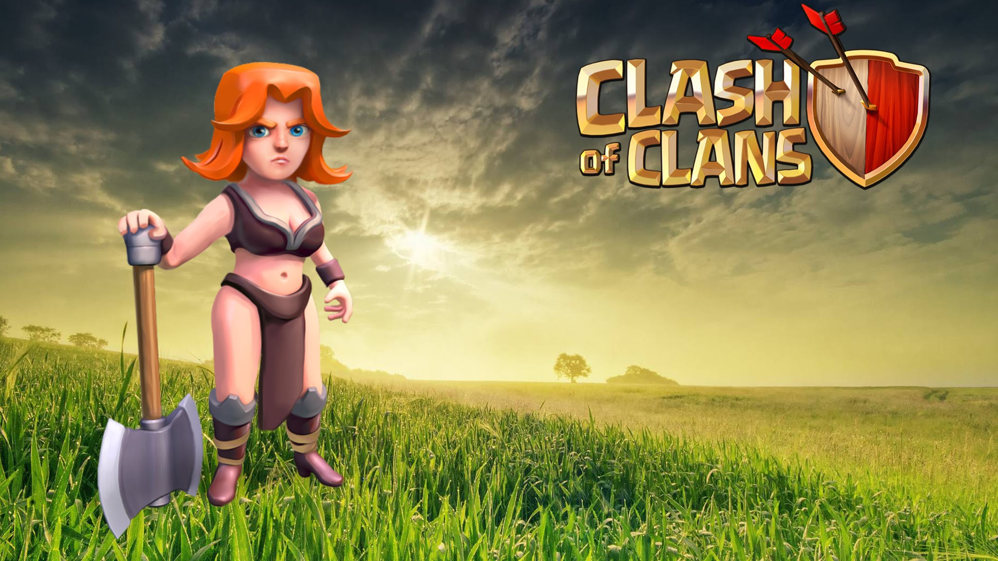 Clash of Clans Valkyrie Wallpapers HD