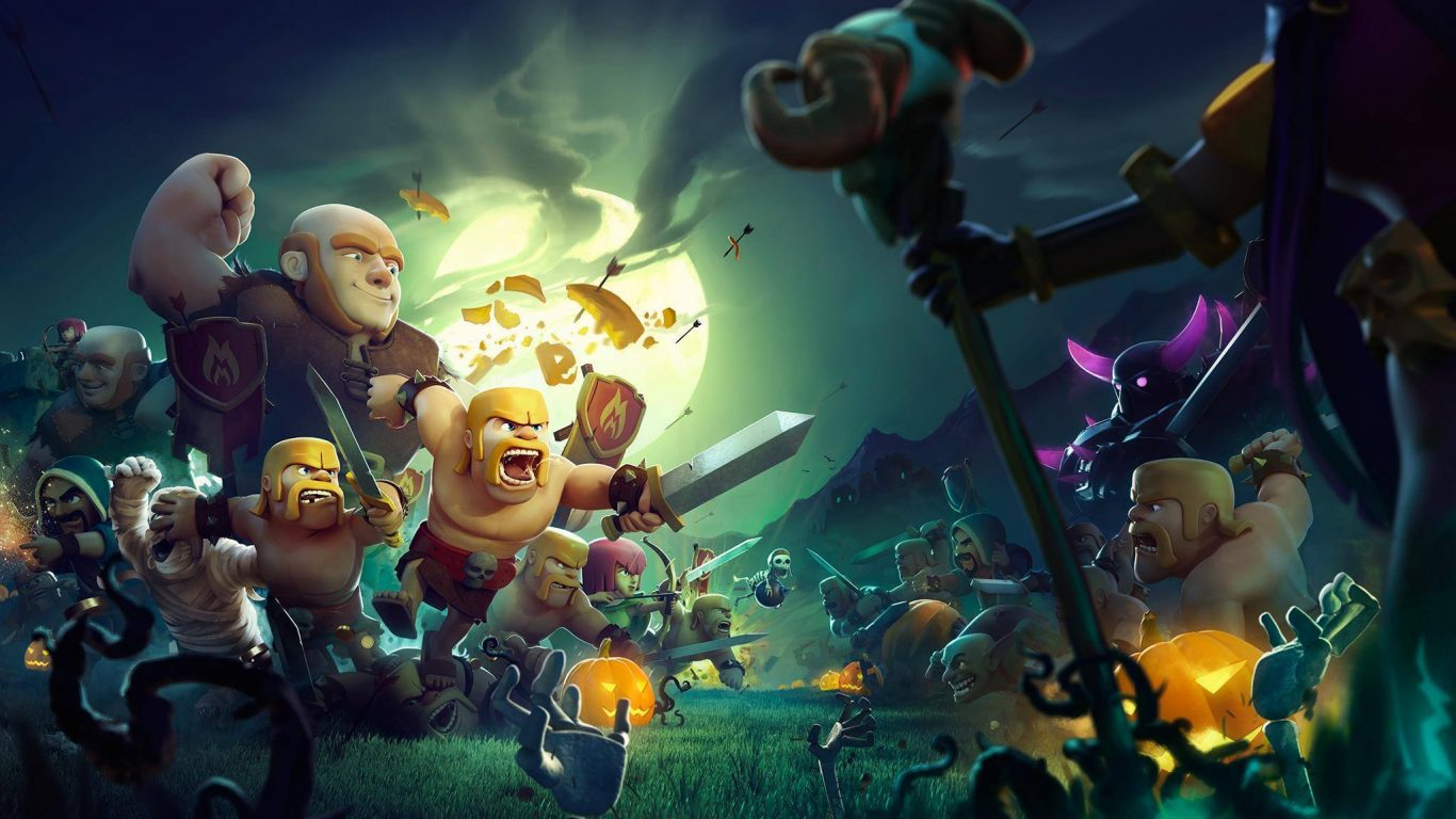 Clash Of Clans Wallpapers And Photos 4k Full Hd Everest Hill