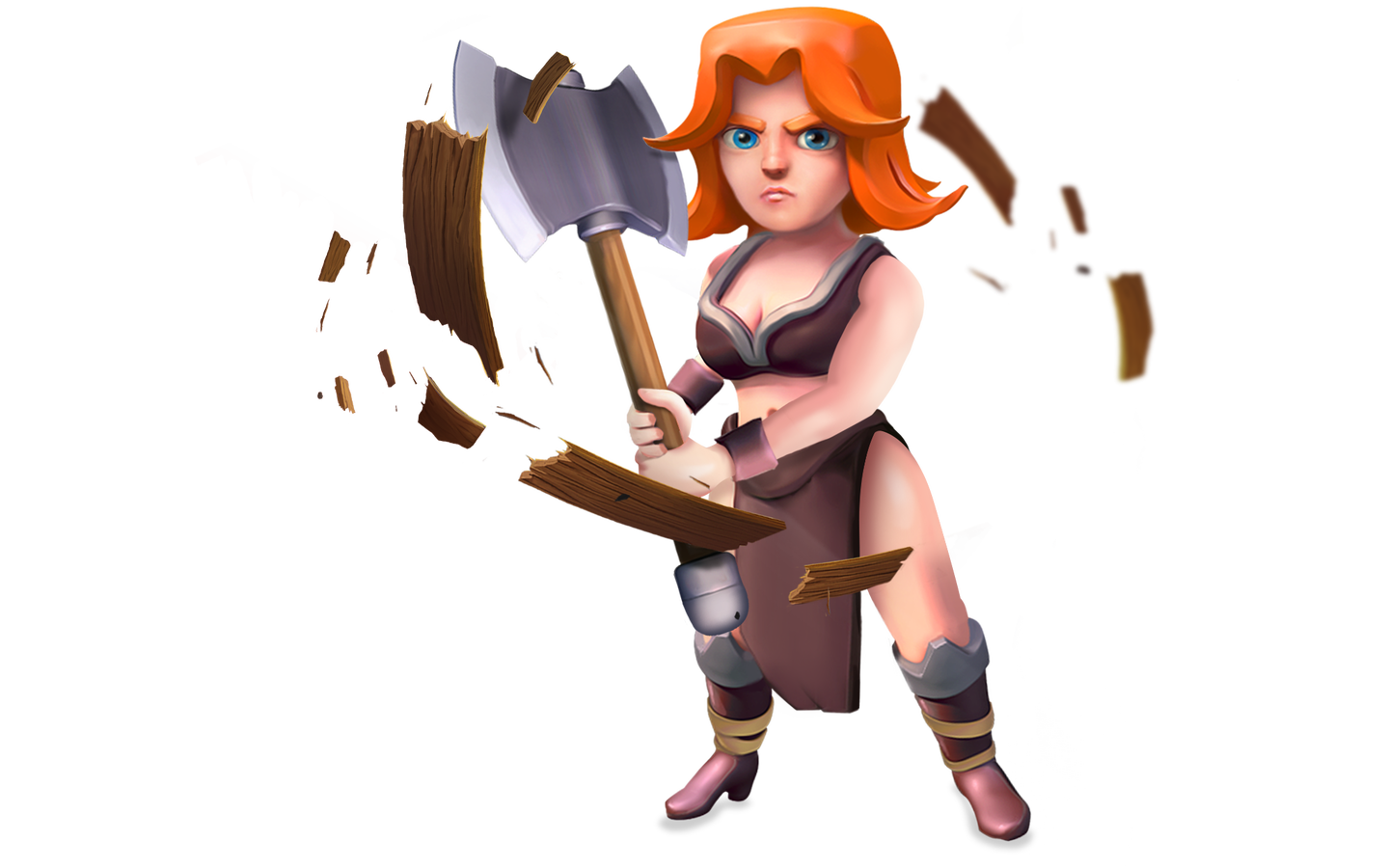 PNG Clash of Clans Transparent Valkyrie