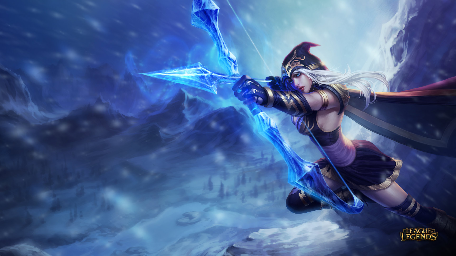 Ashe - League of Legends Wallpapers