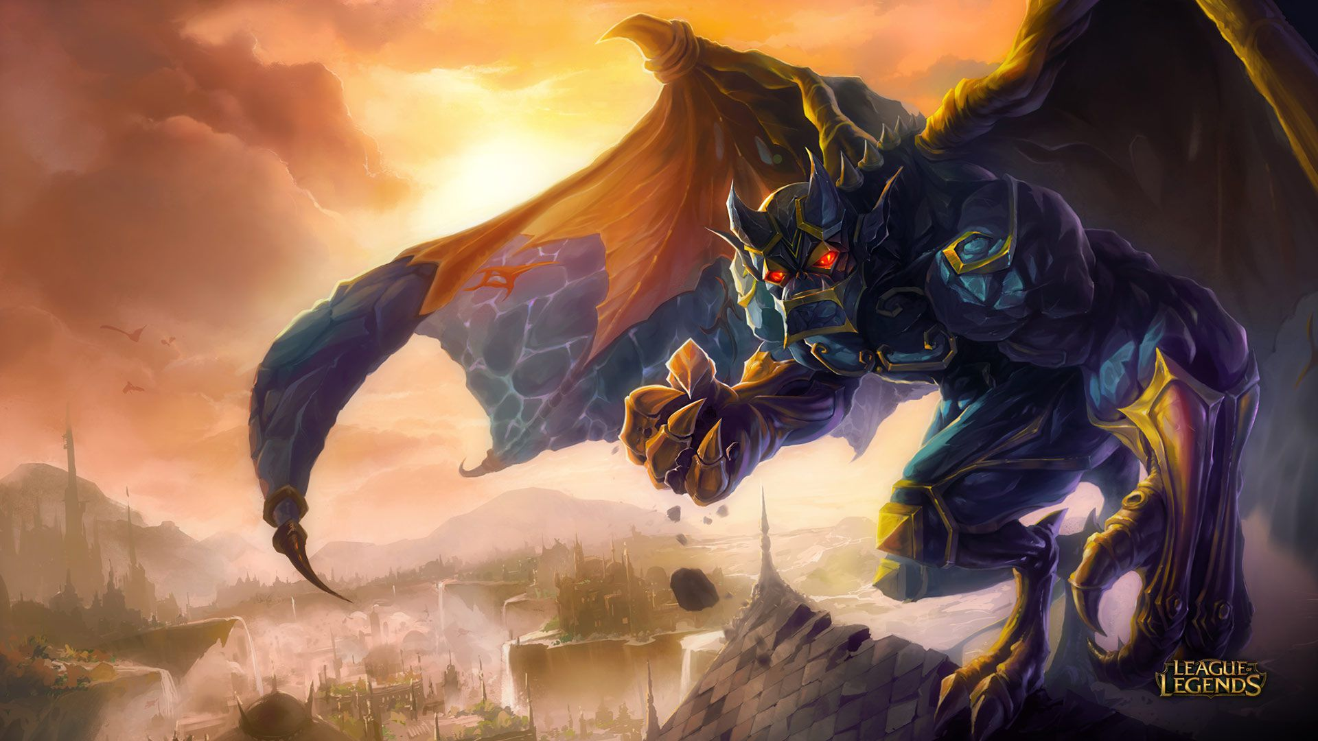 Galio - League of Legends Wallpapers