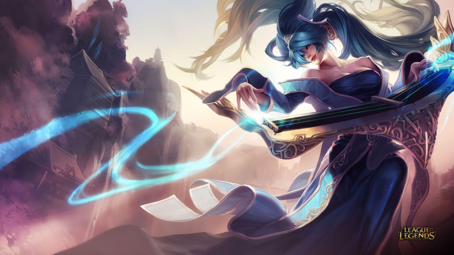HD Sona Wallpaper - League of Legends Wallpapers