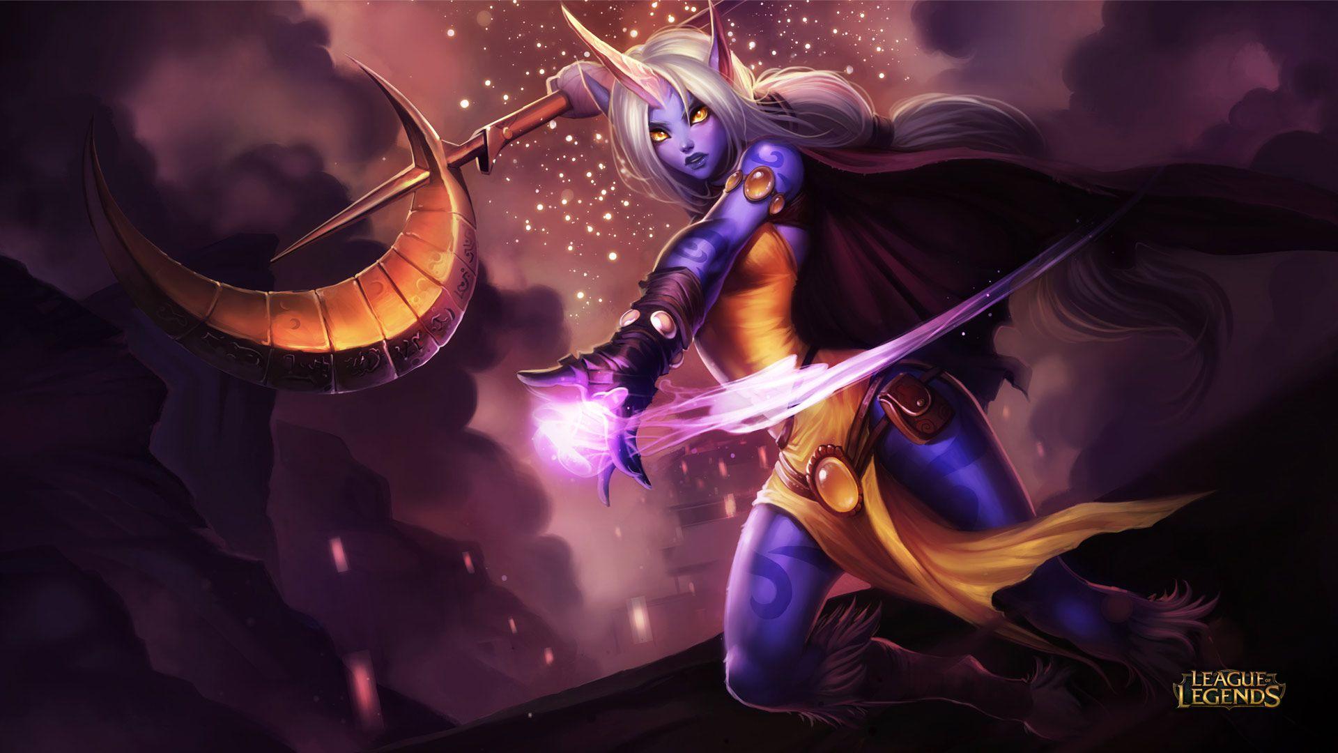 HD Soraka Wallpaper - League of Legends Wallpapers