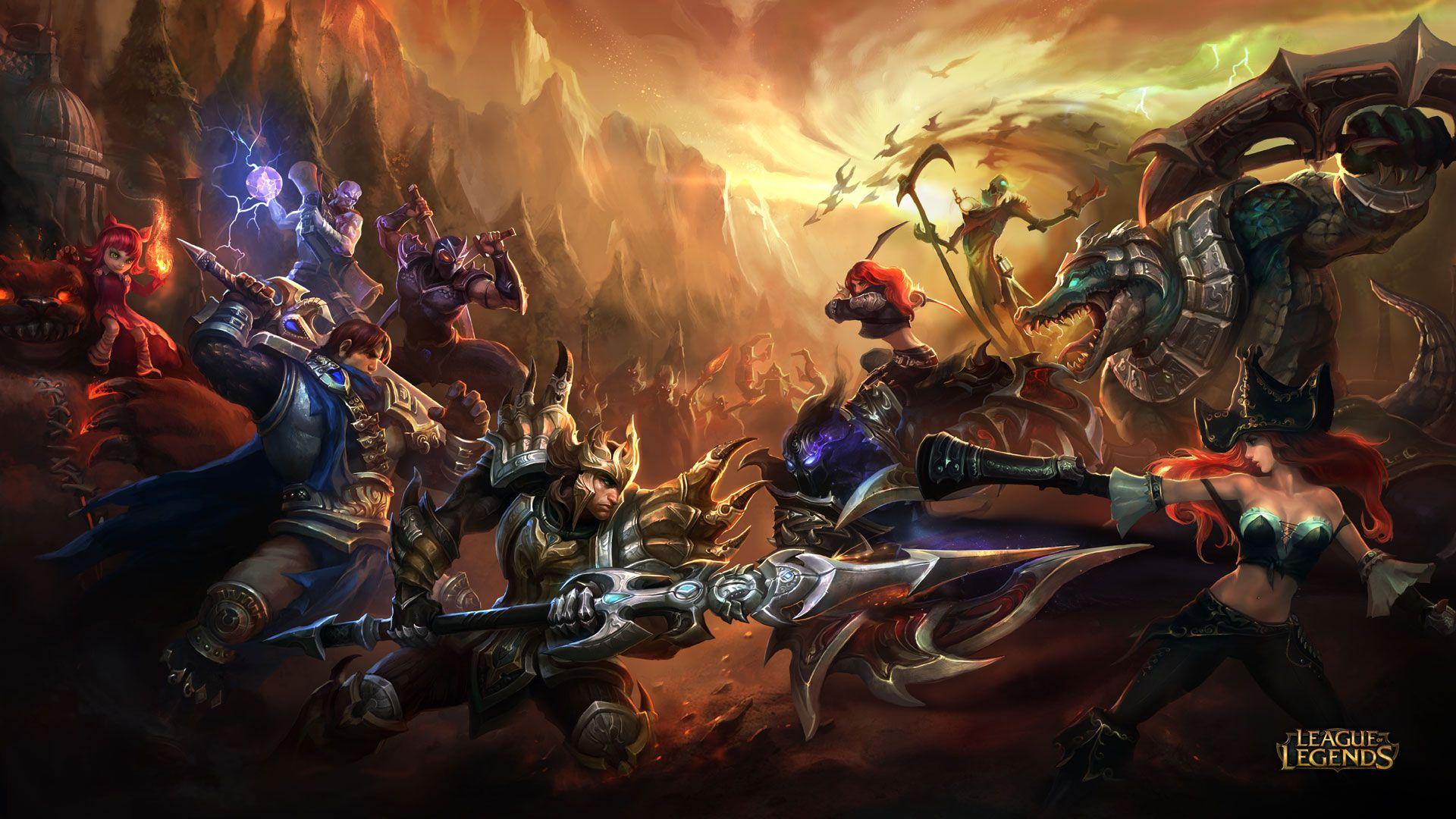 Jarvan IV vs Nocturne - League of Legends Wallpapers