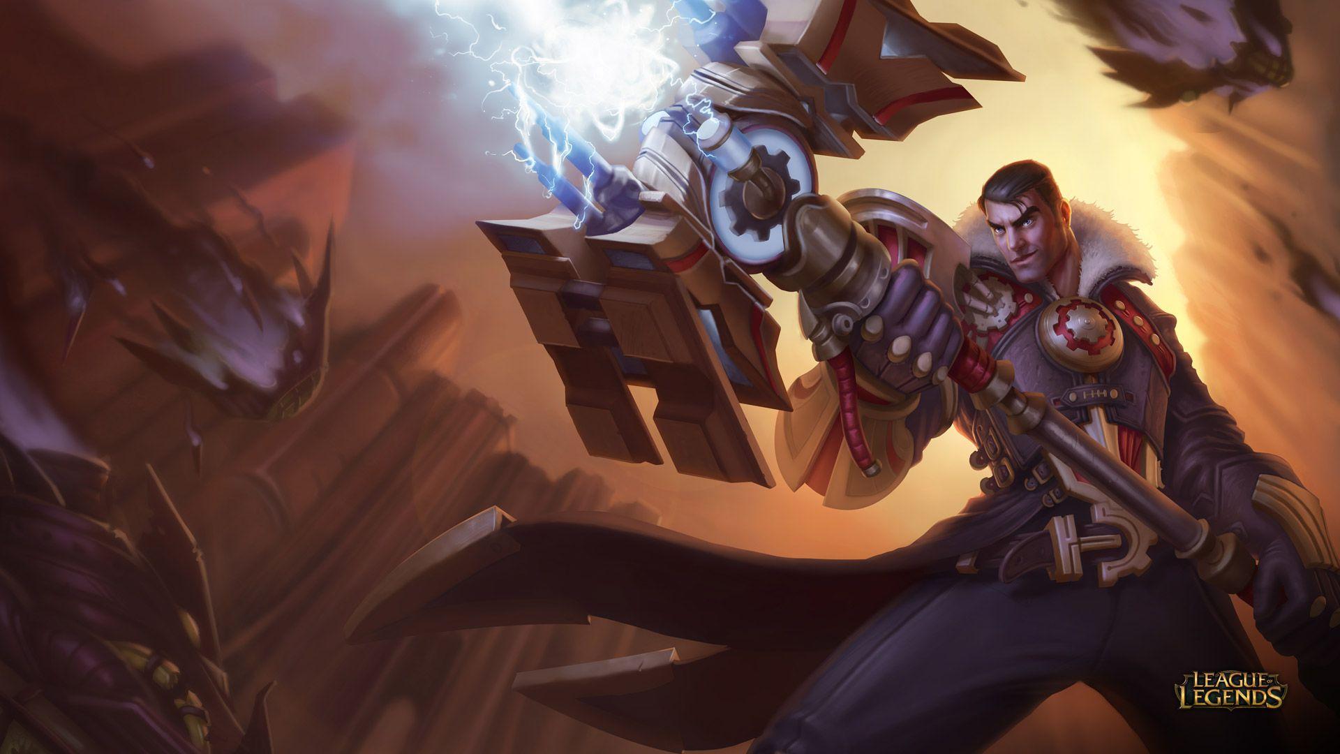 Jayce - League of Legends Wallpapers