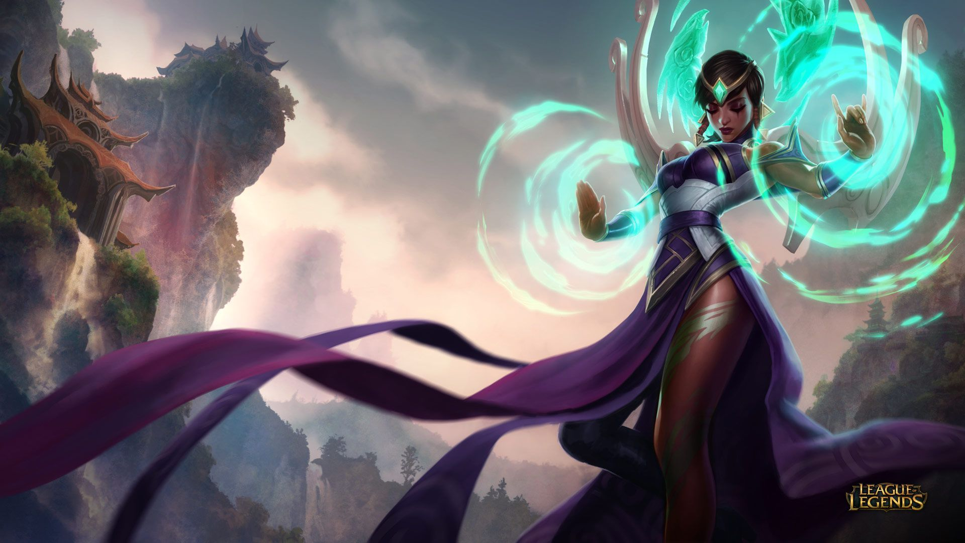Karma - League of Legends Wallpapers