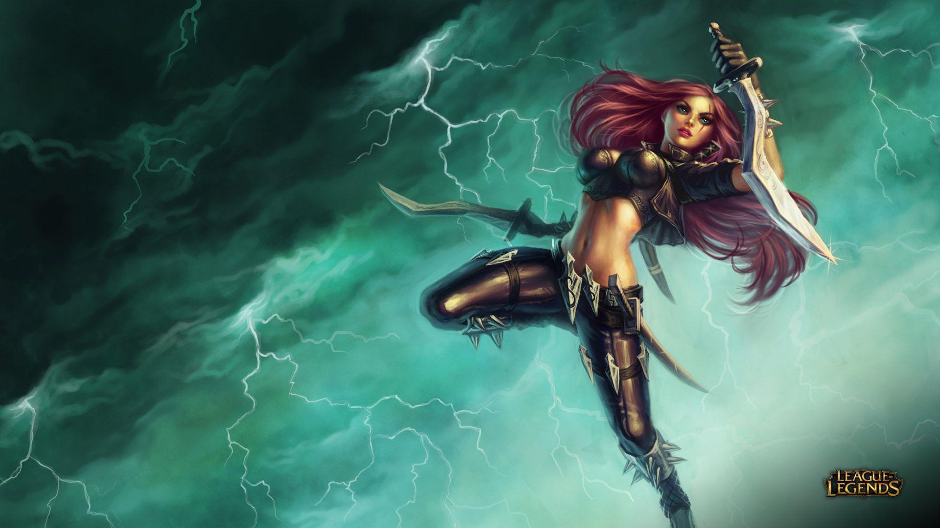 Katarina - League of Legends Wallpapers