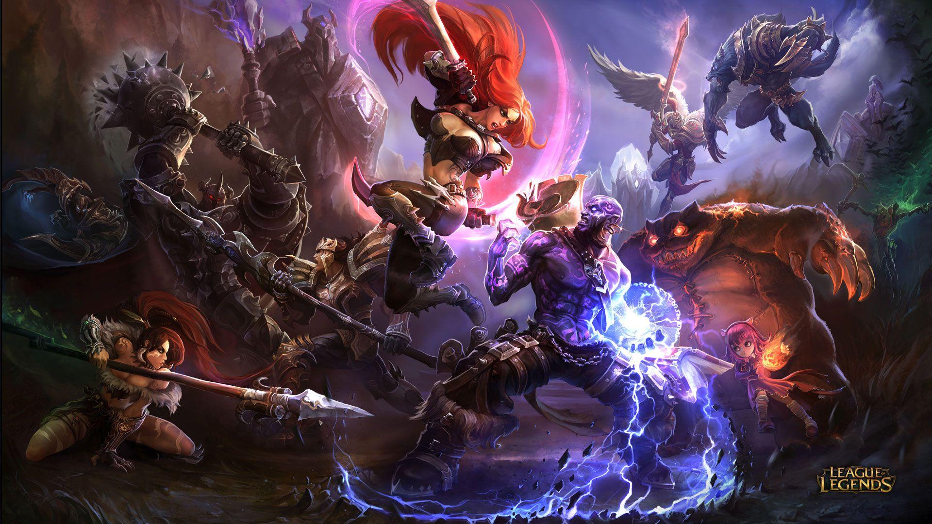 Katarina vs Ryze - League of Legends Wallpapers