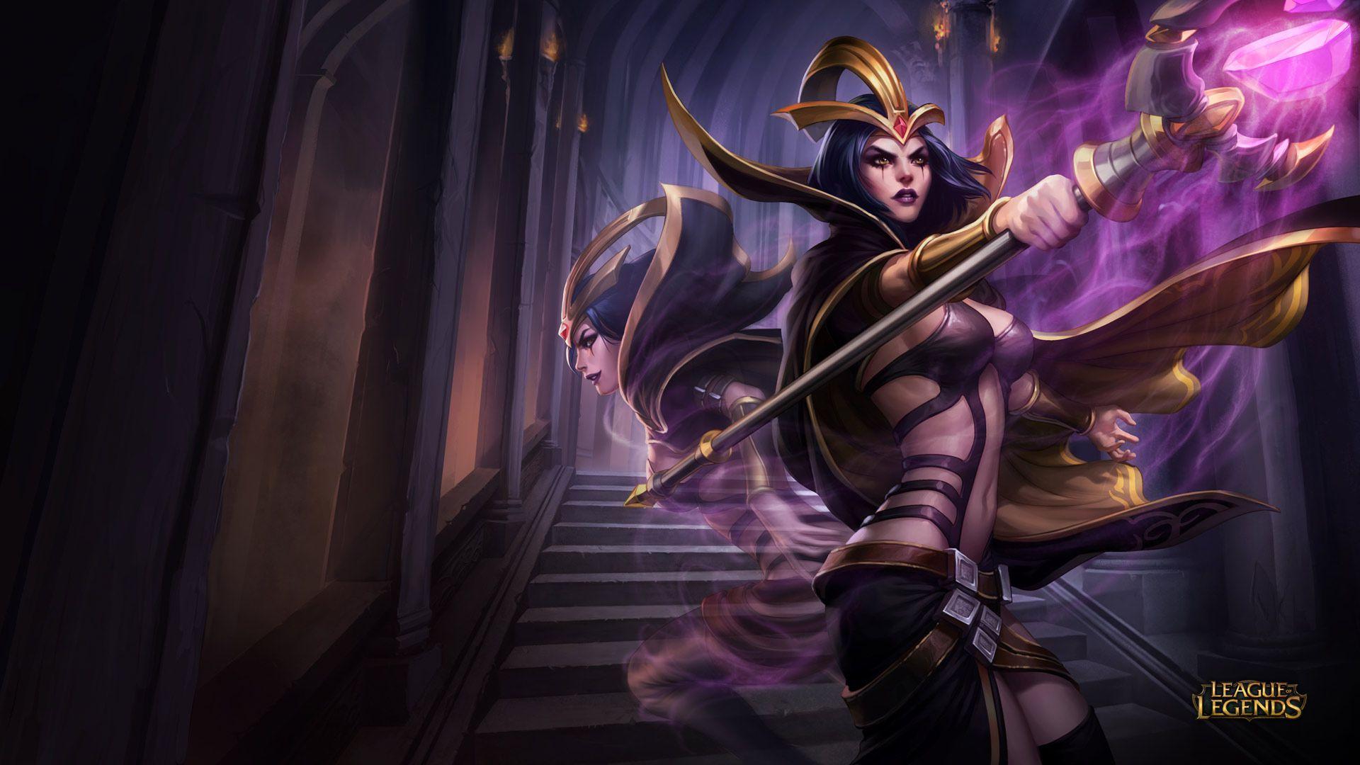 LeBlanc - League of Legends Wallpapers