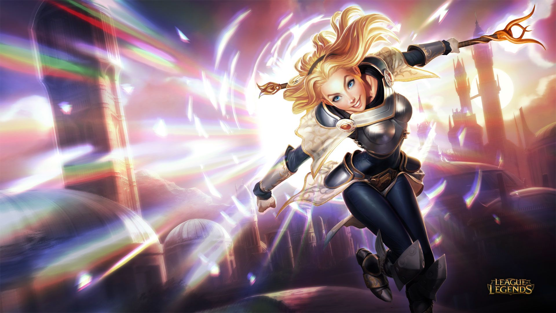 Lux Wallpaper - League of Legends Wallpapers