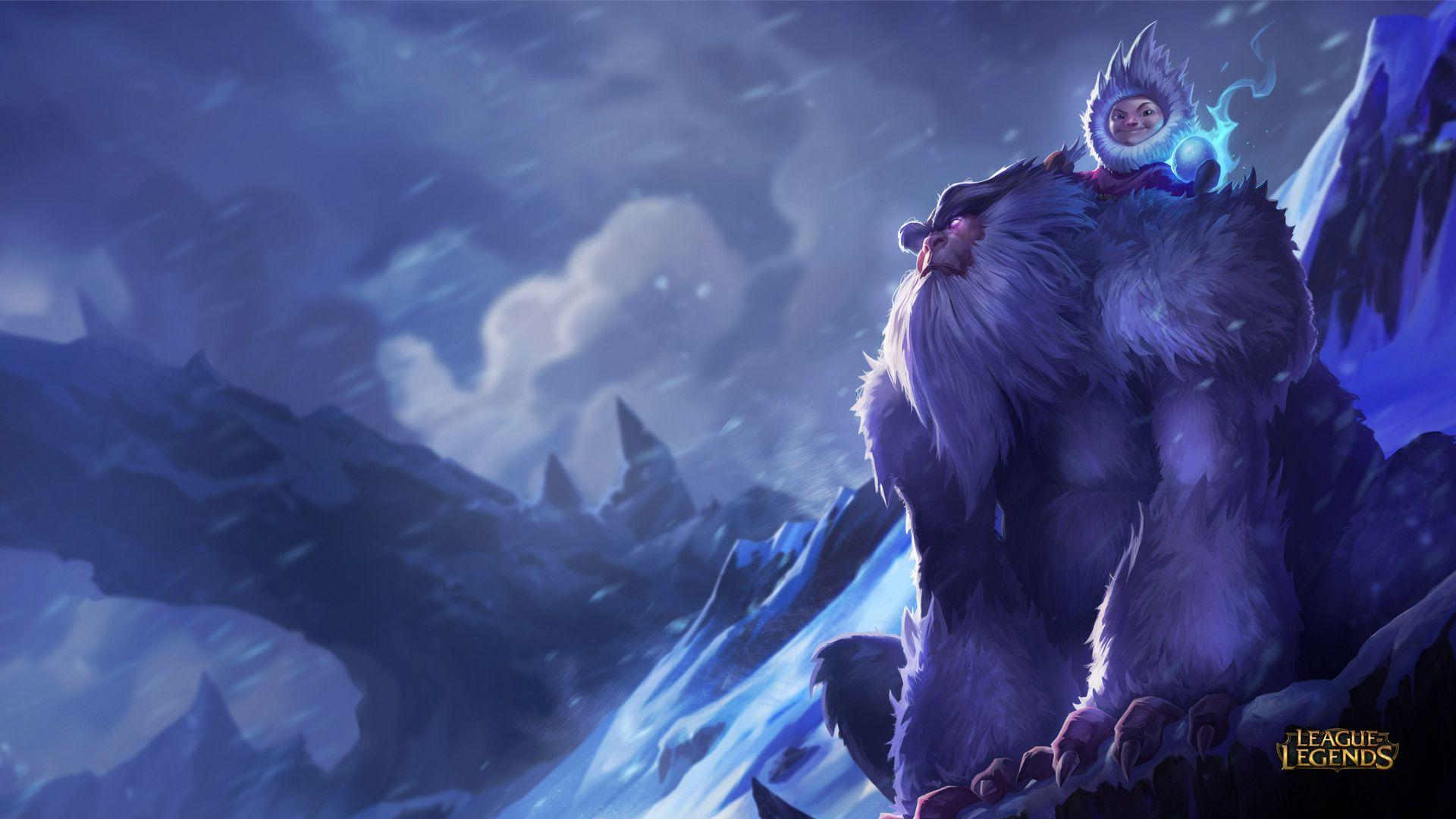 Nunu - League of Legends Wallpapers