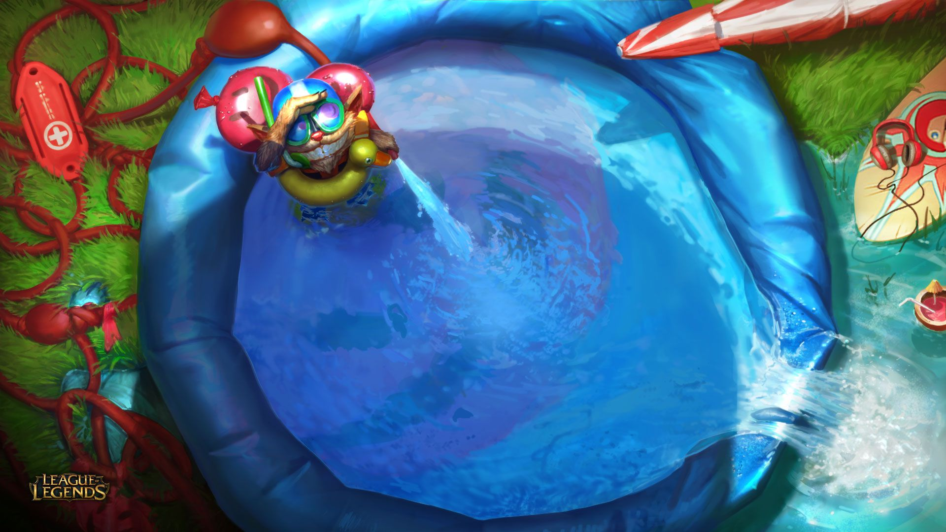 Pool Party Invitation - League of Legends Wallpapers