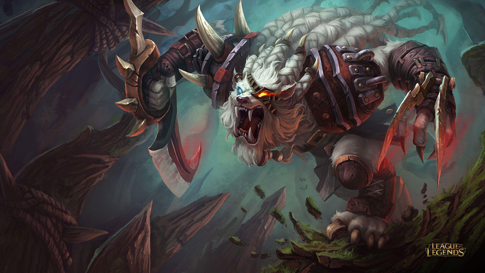 Rengar Wallpaper - League of Legends Wallpapers