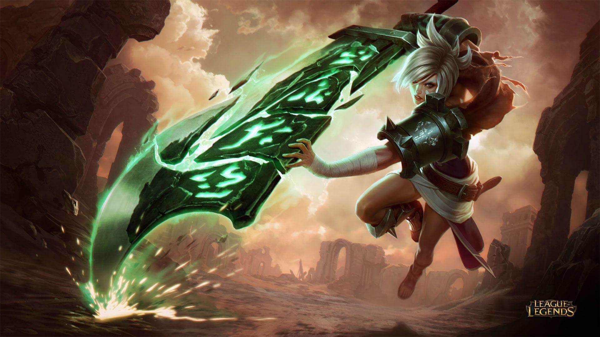 Riven Wallpaper - League of Legends Wallpapers