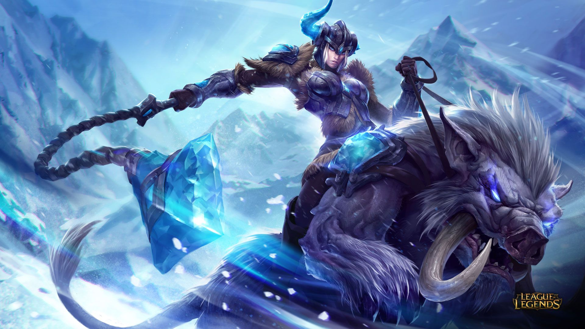 Sejuani - League of Legends Wallpapers
