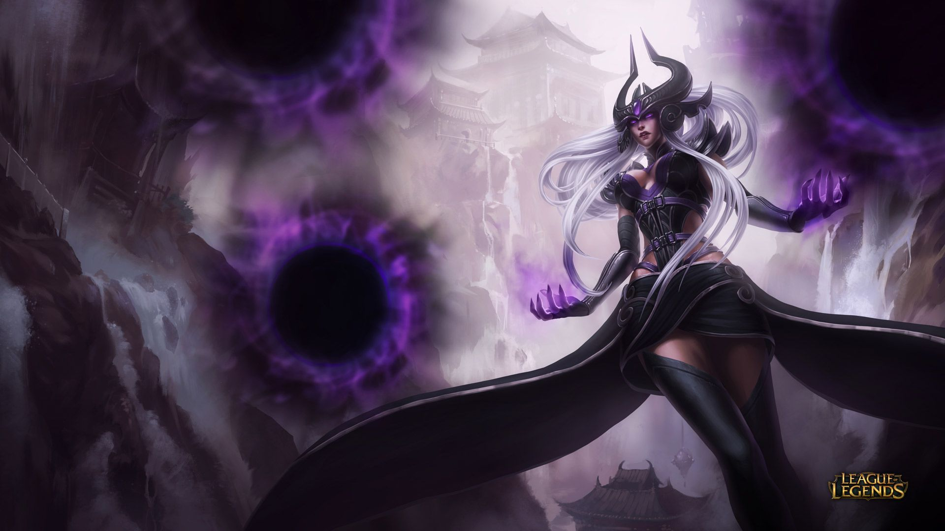 Syndara - League of Legends Wallpapers
