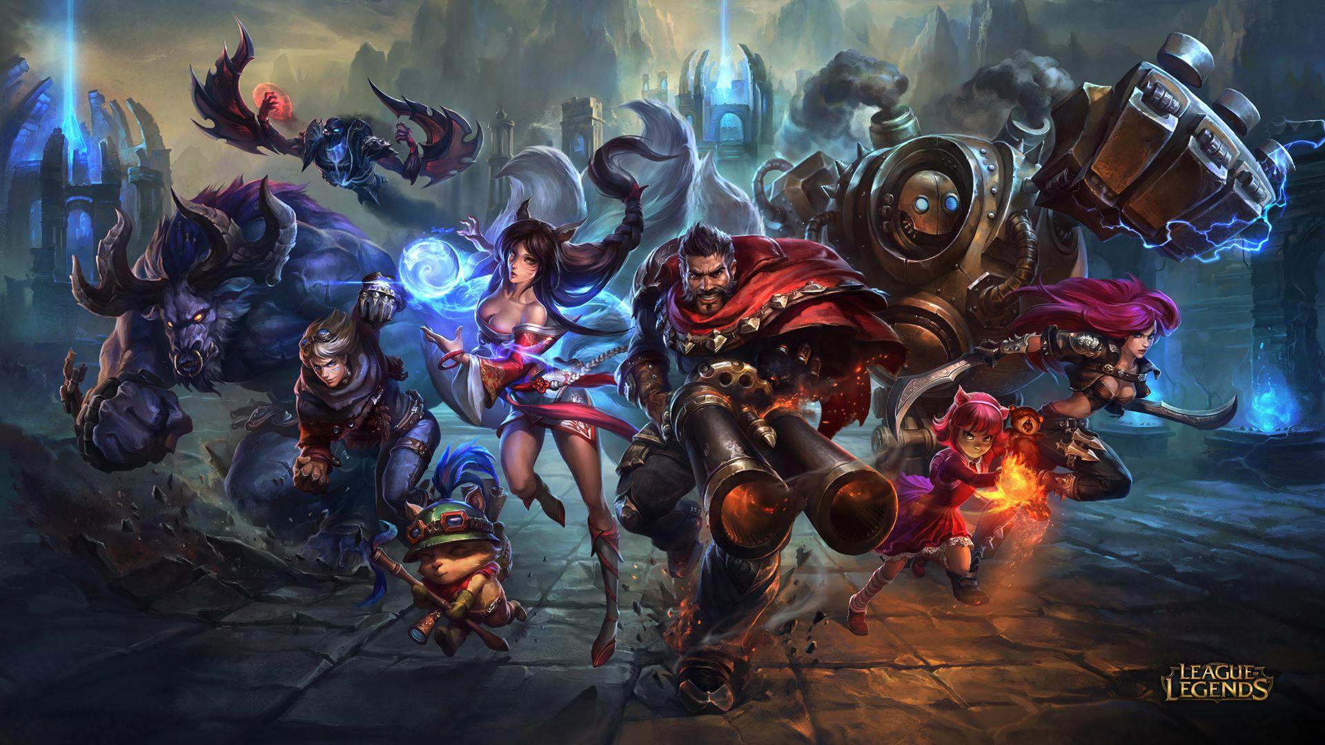 Team Graves - League of Legends Wallpapers