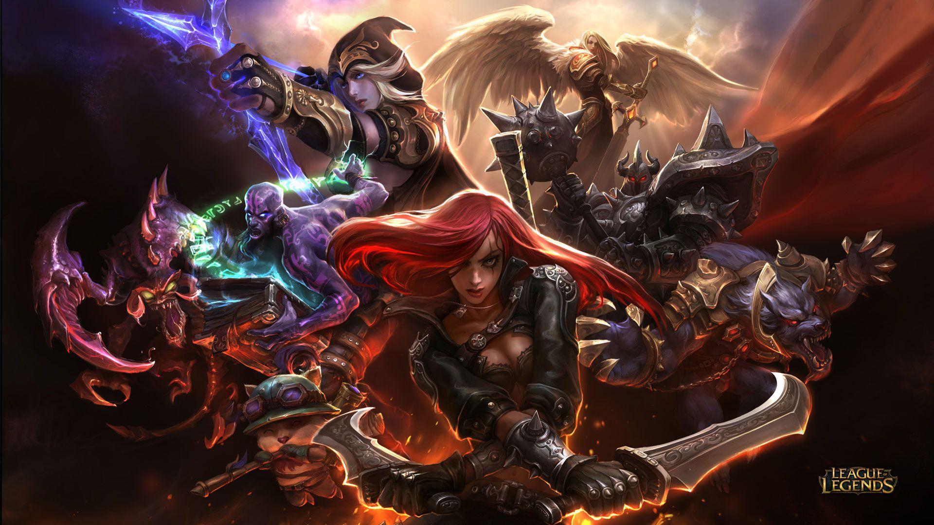 Team Katarina - League of Legends Wallpapers