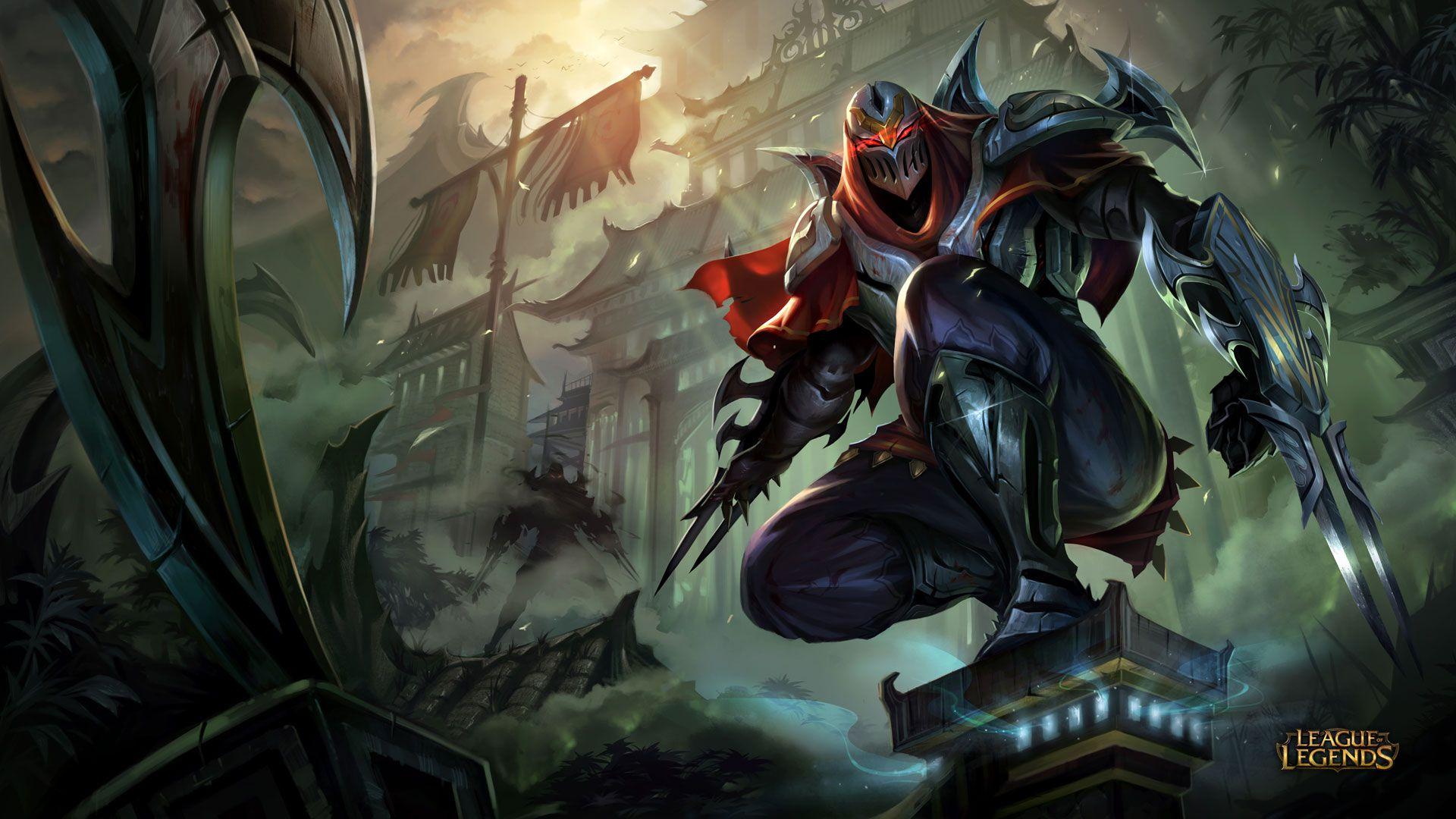 Zed – League of Legends Wallpapers