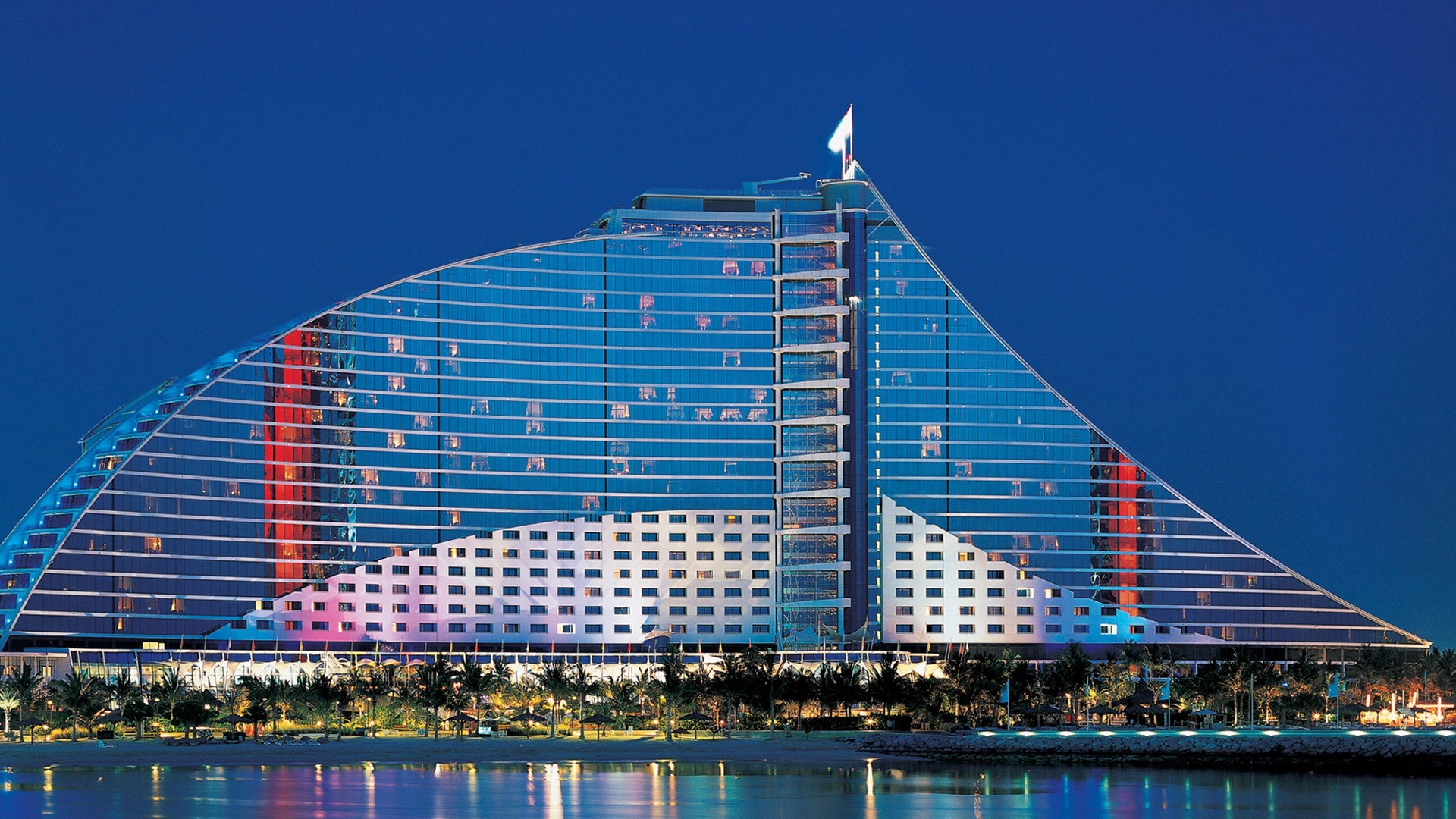 4K Dubai Jumeirah Beach Hotel