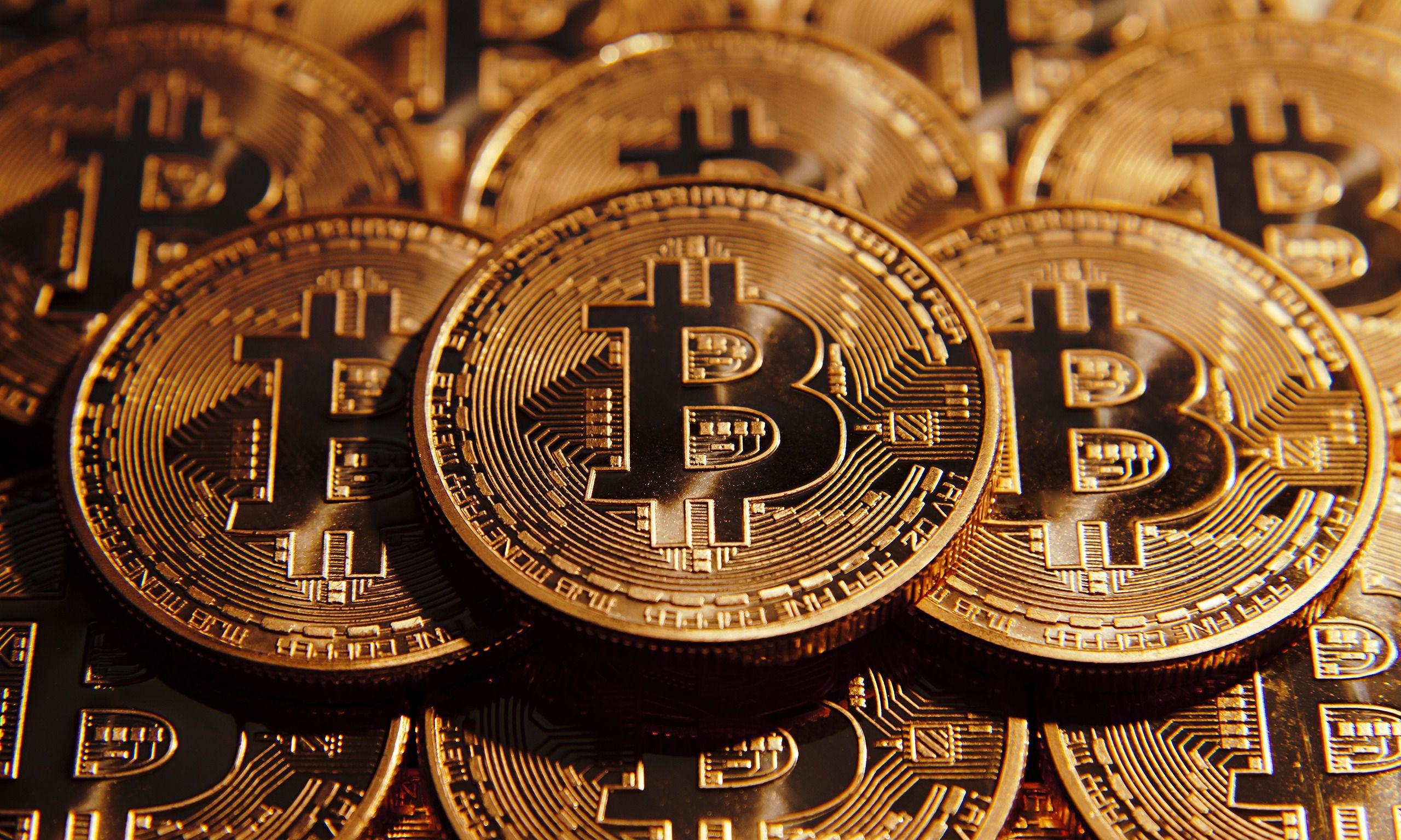 Bitcoin Gold Full HD Photo