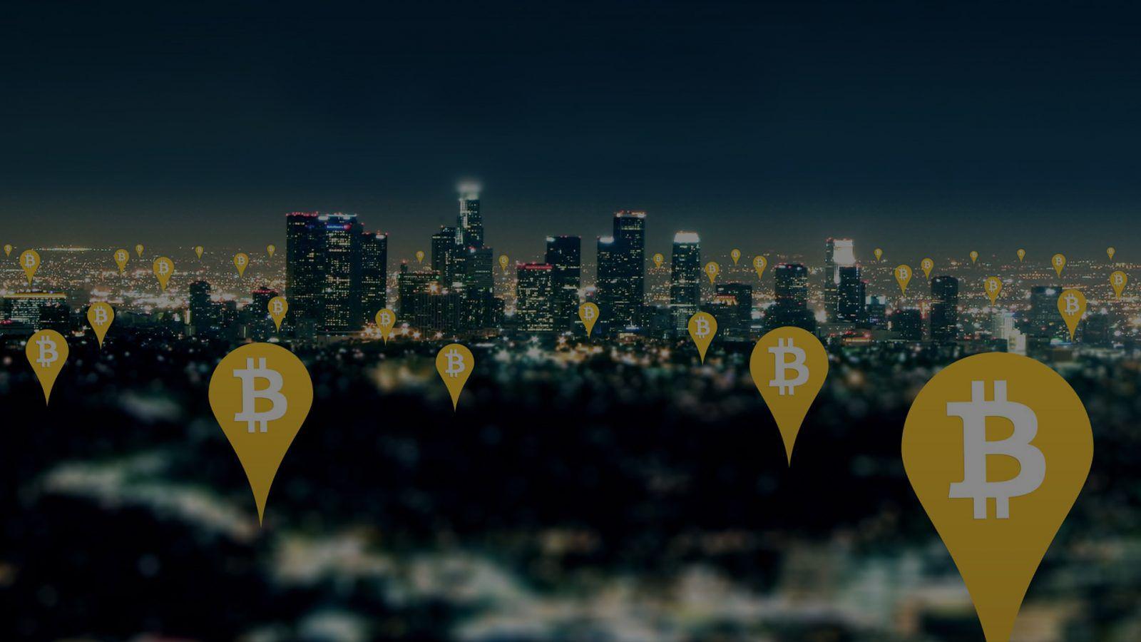 Bitcoin Marker HD Photo
