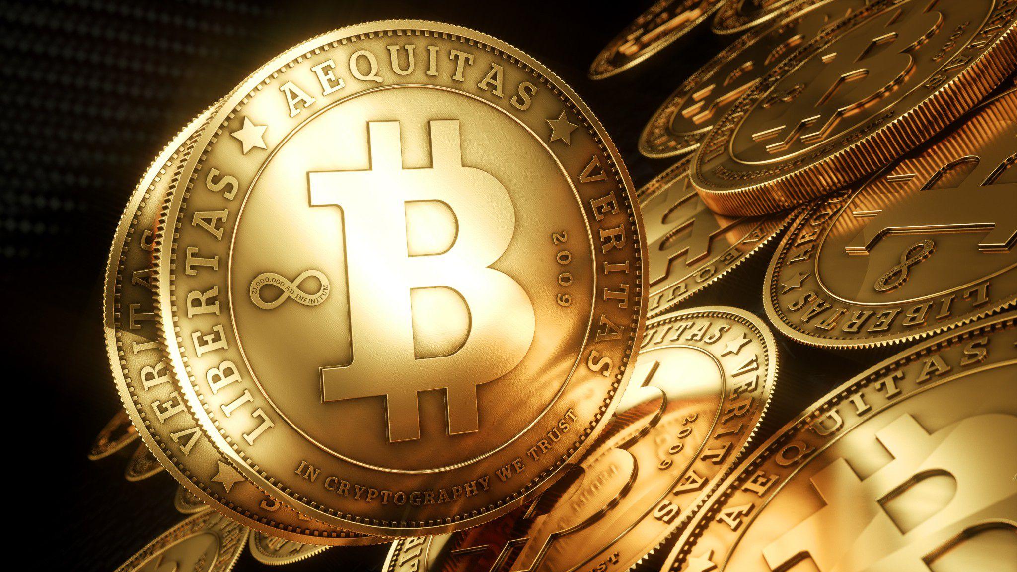 Bitcoin Money Full HD Wallpaper