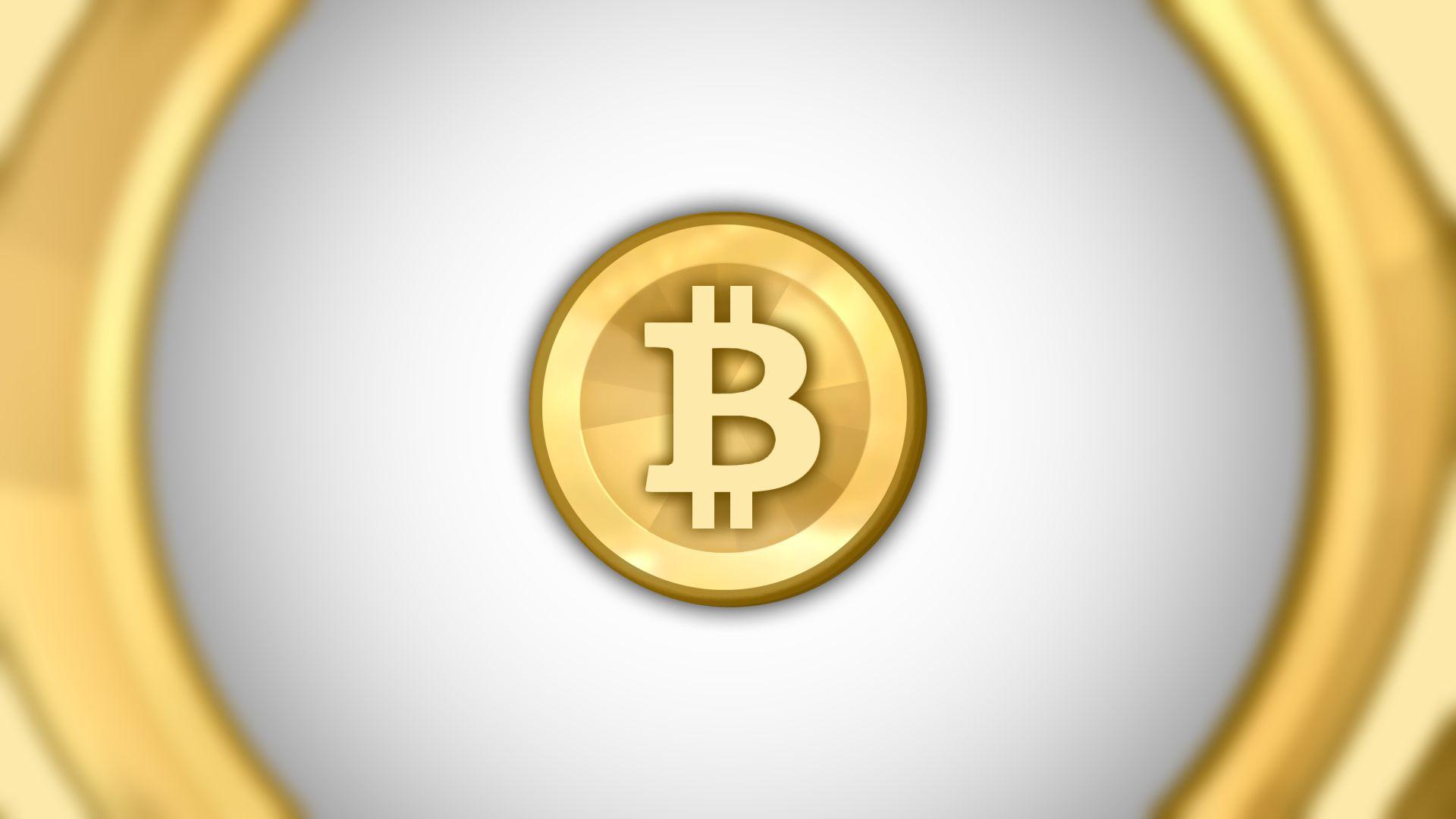 HD Gray, Gold - Bitcoin Wallpaper
