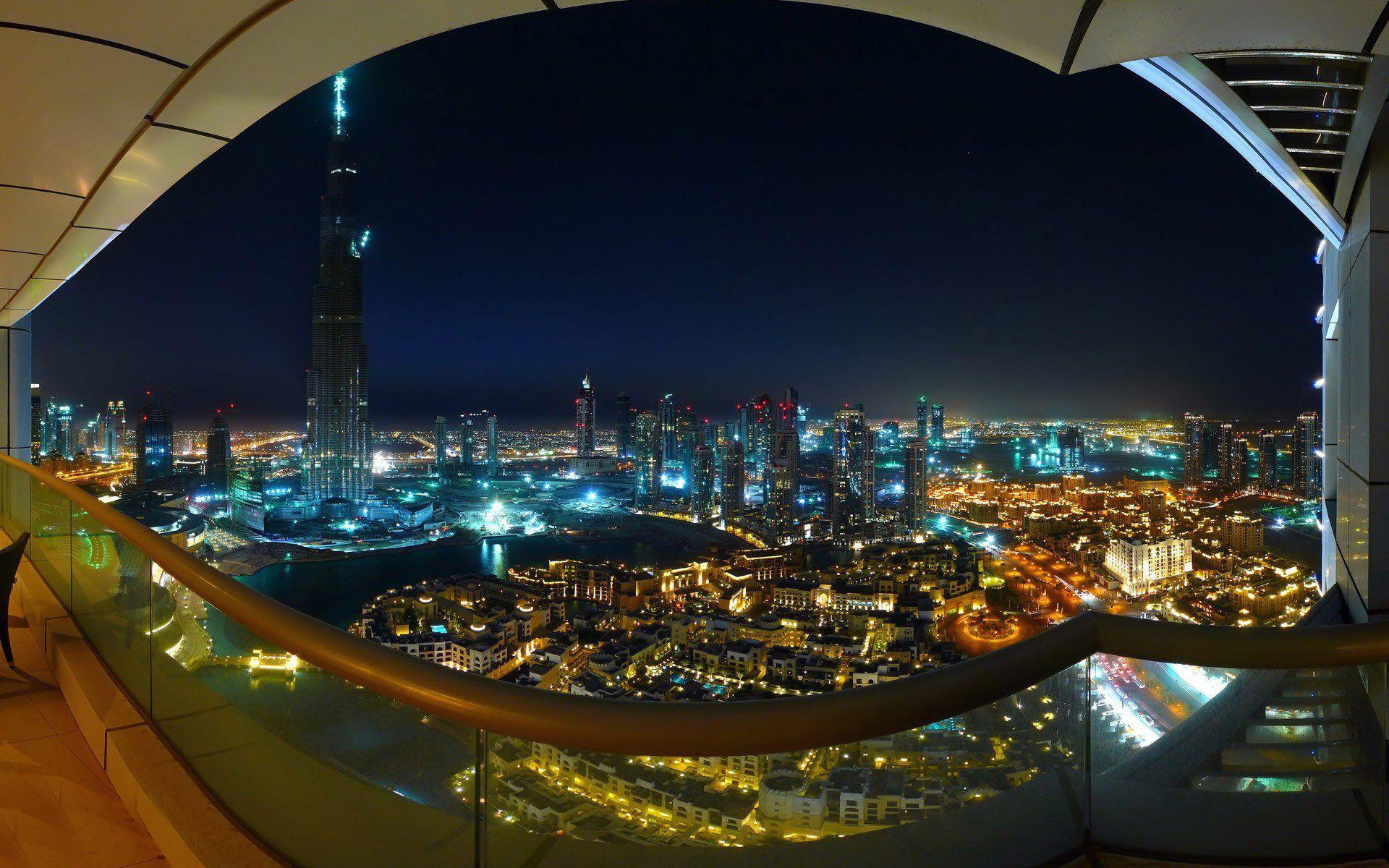Panoramic Dubai Burj Khalifa Photos 1920x1200 HD
