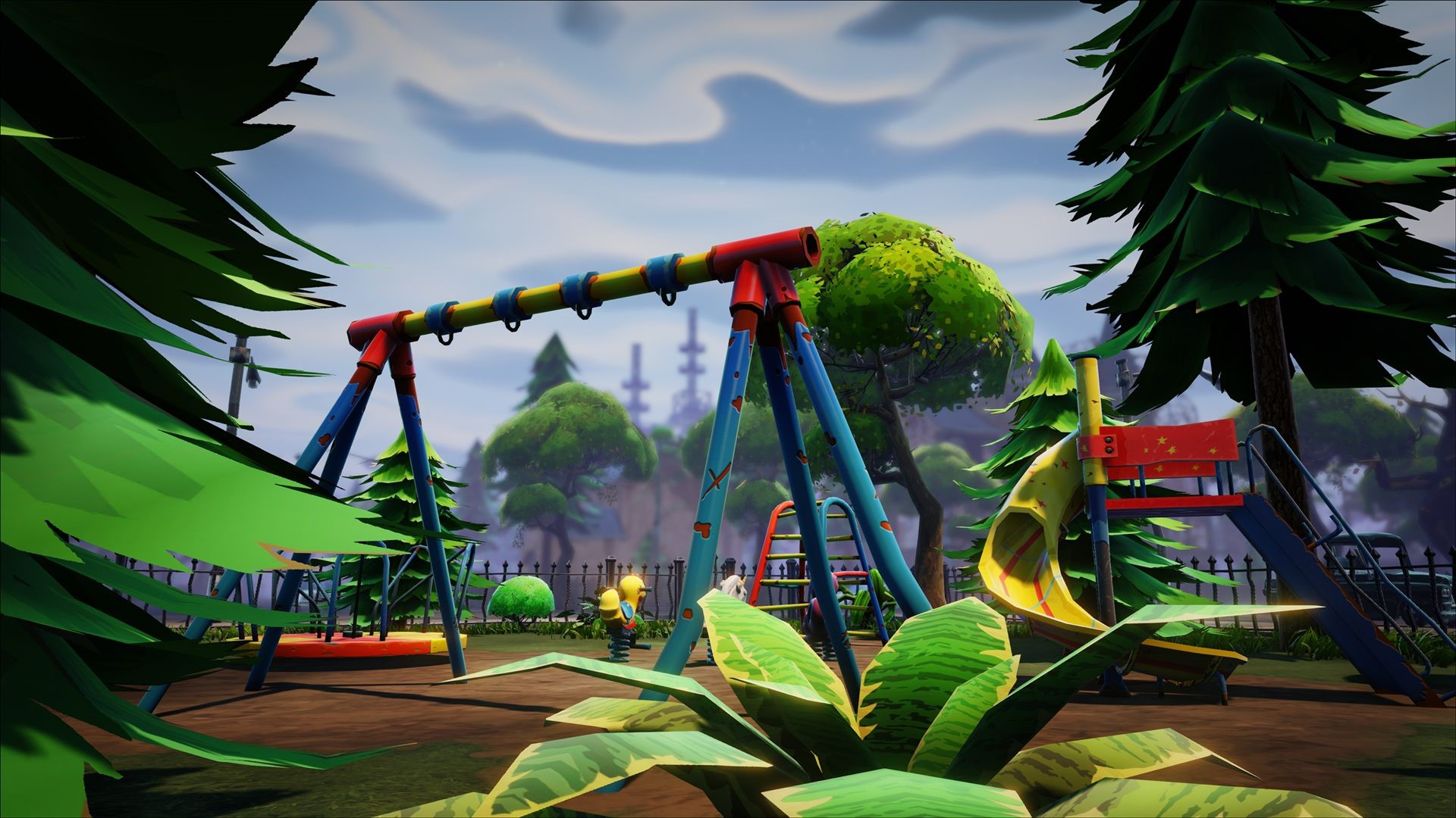 Fortnite Child Park Wallpaper