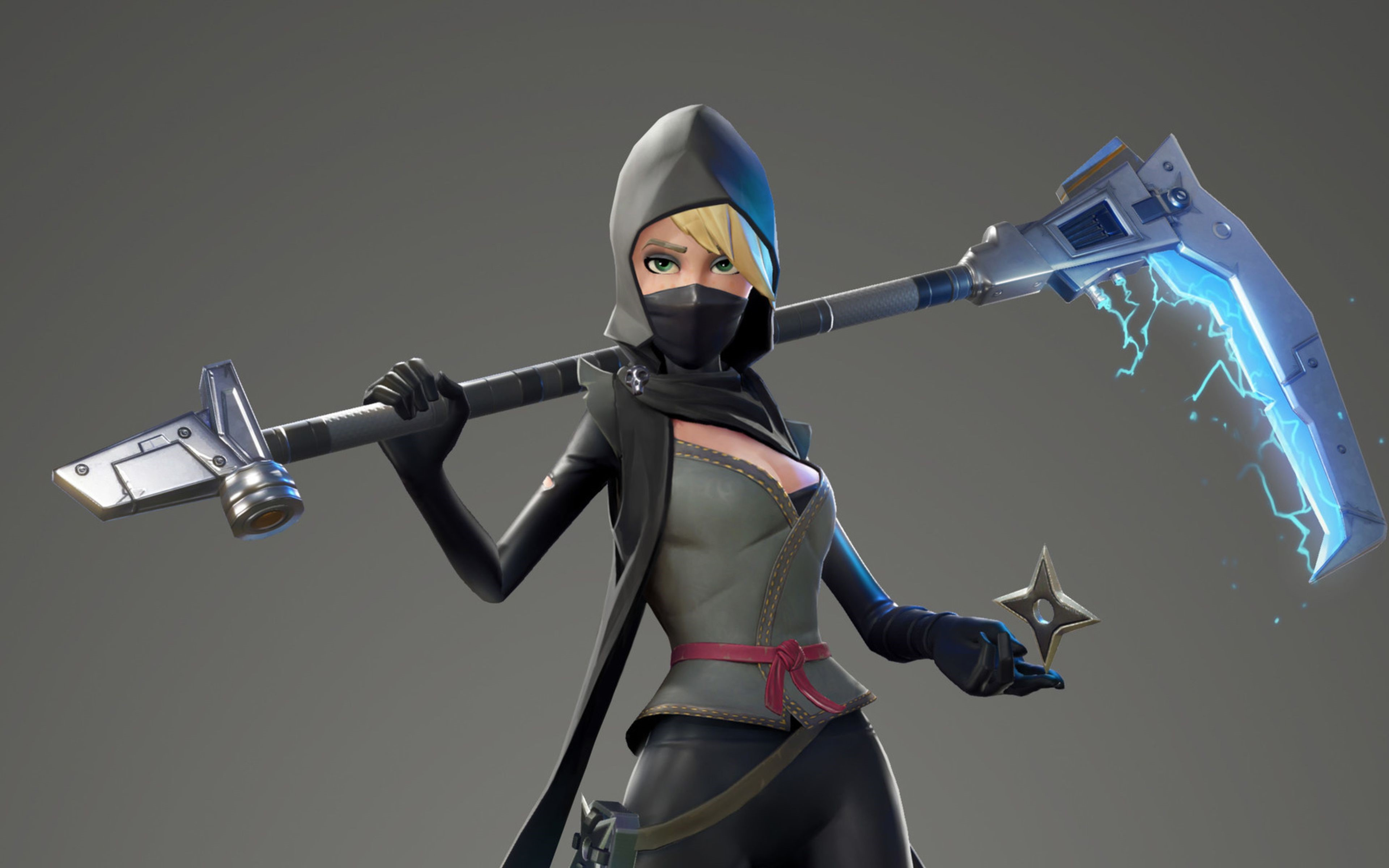 Fortnite Scythe Ninja Full HD Wallpaper