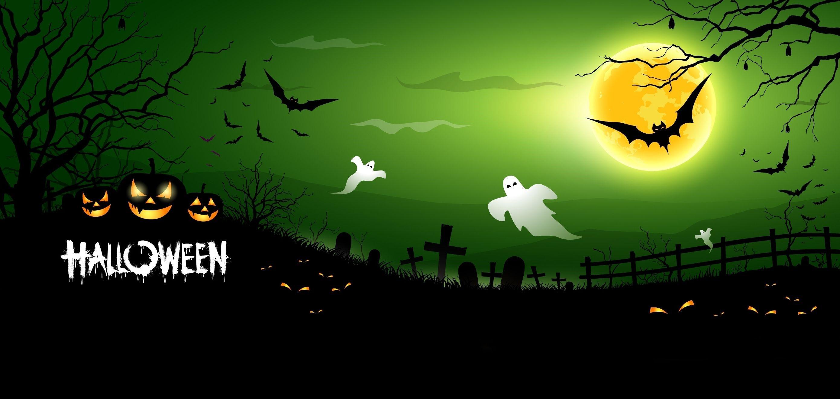 Halloween Cover Photo Wallpaper