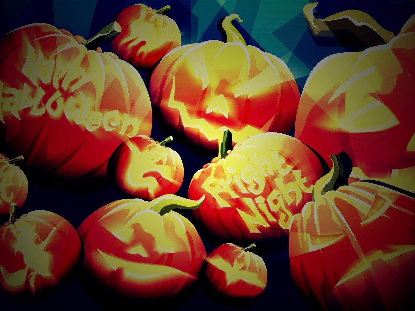 Halloween Fearful Night HD Wallpaper