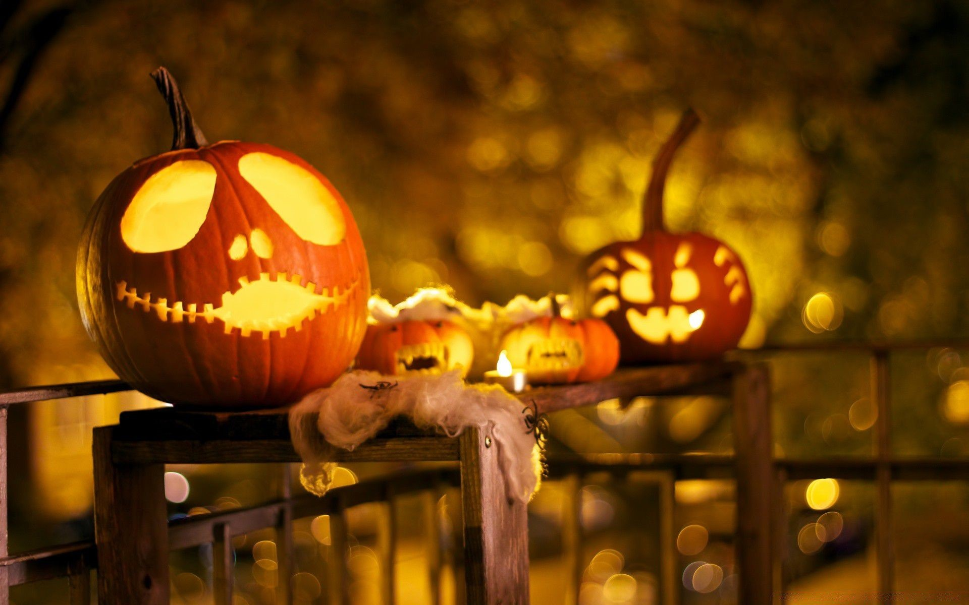 Halloween Pumpkin Work HD Wallpaper