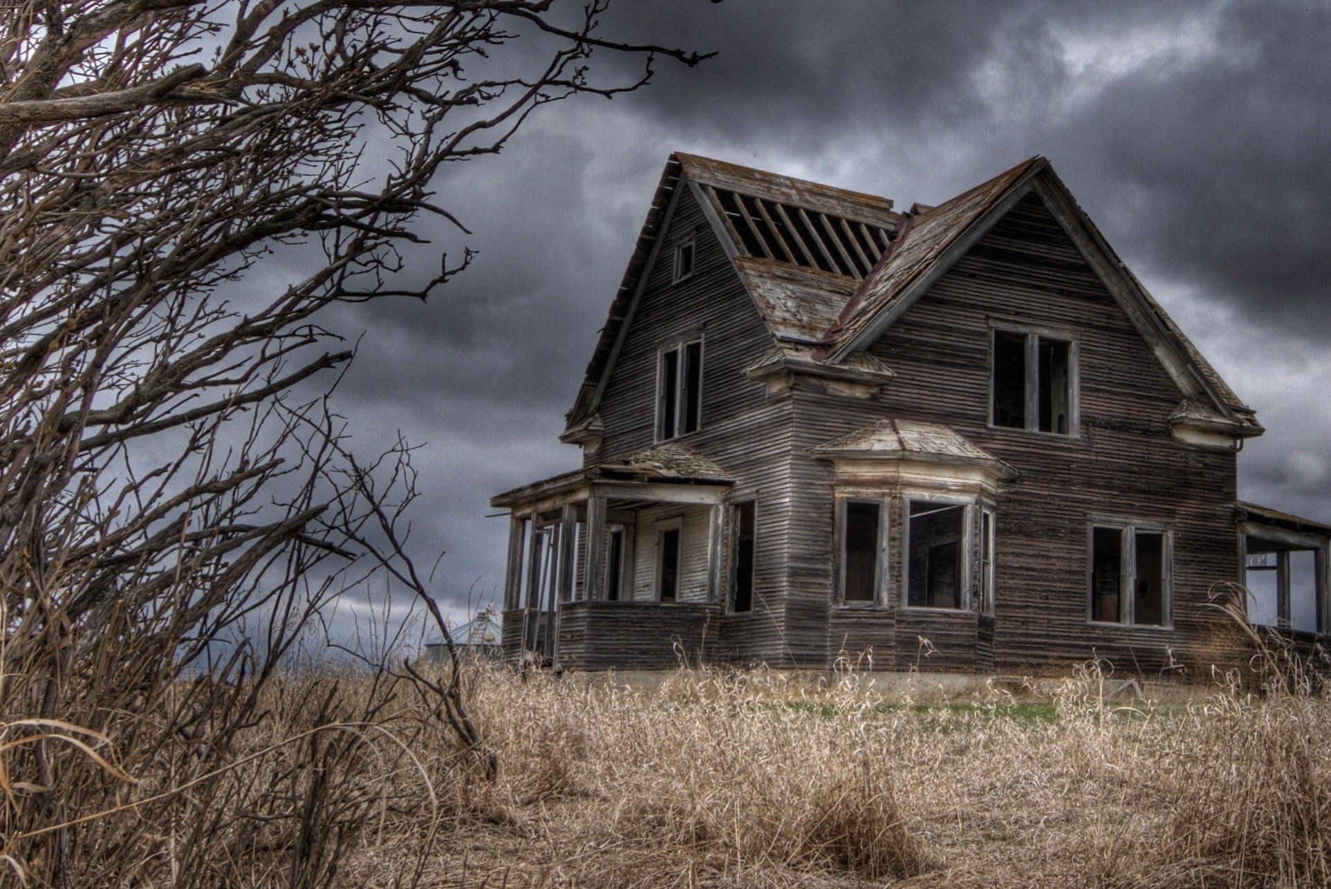 Haunted House Full HD black,green,pink,brown 1925x1286 Backgrounds