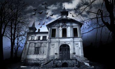 Haunted House Halloween Wallpapers 4K, Full HD Mobile&Desktop
